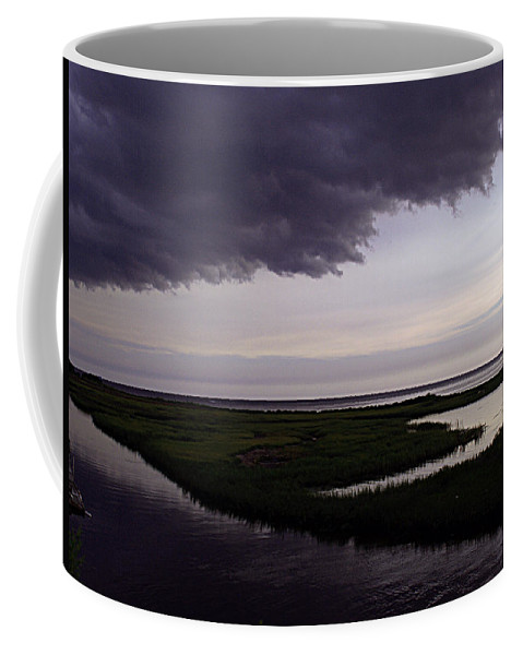 Storm Coffee Mug featuring the photograph Stormy Day by Bob Johnson