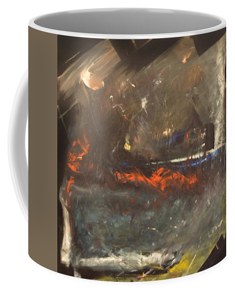 Storm Coffee Mug featuring the painting Stormy Monday by Tim Nyberg