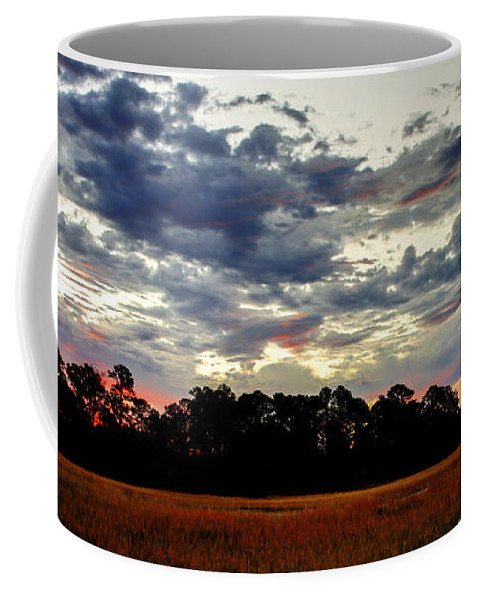 Canvas Coffee Mug featuring the photograph Stormy Morning by Phill Doherty