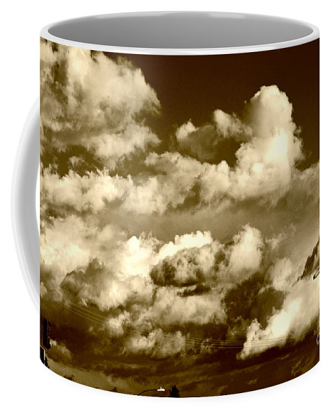 Clay Coffee Mug featuring the photograph Stormy Skies In Socal by Clayton Bruster