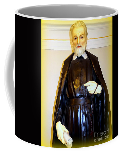 Digital Coffee Mug featuring the photograph St.philip Neri by Ed Weidman