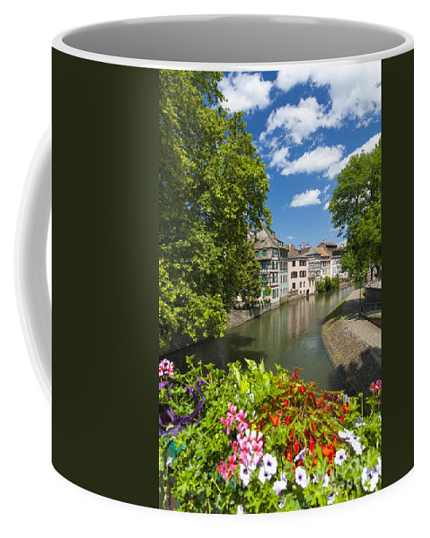 Alsace Coffee Mug featuring the photograph Strasbourg, Half-tmbered Houses, Petite France, Alsace, France by Marco Arduino