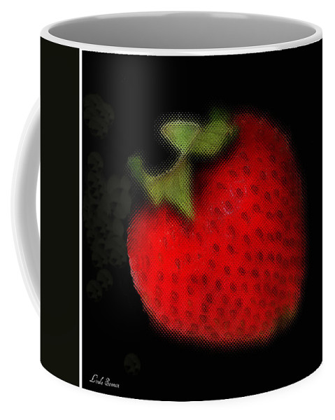 Still Life Coffee Mug featuring the photograph Strawberry by Linda Sannuti