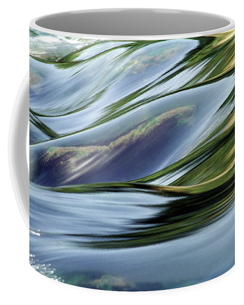Dubi Roman Coffee Mug featuring the photograph Stream 3 by Dubi Roman