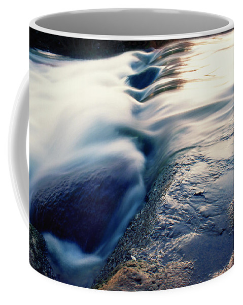Dubi Roman Coffee Mug featuring the photograph Stream 4 by Dubi Roman