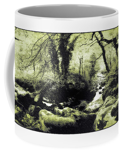 Stream Coffee Mug featuring the photograph Stream In An Ancient Wood by Mal Bray