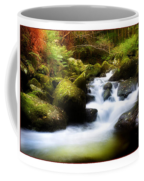Stream Coffee Mug featuring the photograph Stream Steps by Mal Bray