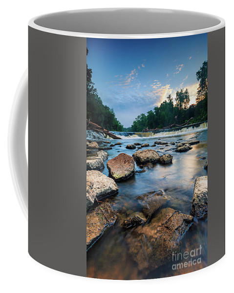 Andrew Slater Photography Coffee Mug featuring the photograph Streaming Kletzsch by Andrew Slater