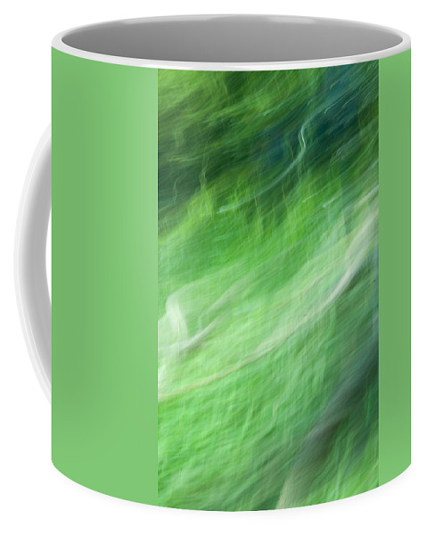 Streaming Coffee Mug featuring the photograph Streaming Life by Douglas Barnett