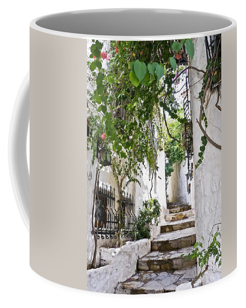 Turkey Coffee Mug featuring the photograph Street Of Marmaris by Svetlana Sewell