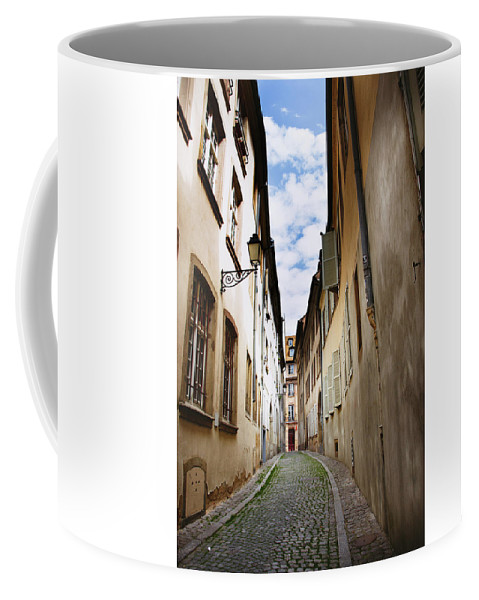 Street Coffee Mug featuring the photograph Streets Of France by Kelly Kincart Pfister