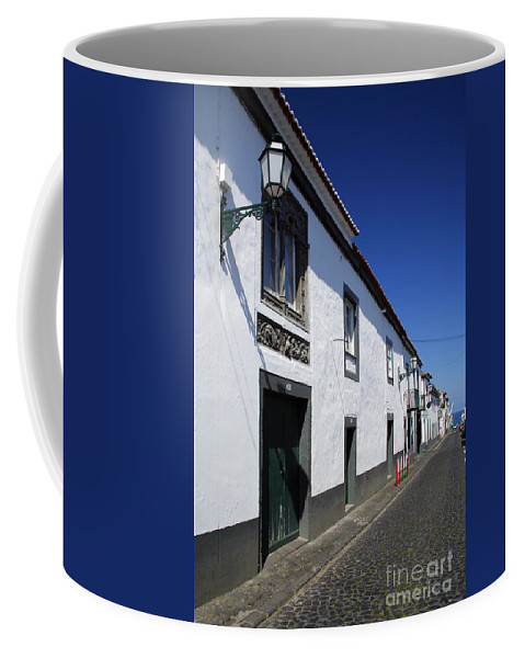 Portugal Coffee Mug featuring the photograph Streets Of Ribeira Grande by Gaspar Avila