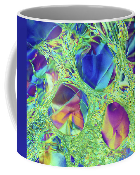 Cellophane Coffee Mug featuring the photograph Stressed, Stretched And Melted by Carol Berget