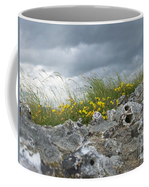 Old Coffee Mug featuring the photograph Striking Ruins by Mary Mikawoz