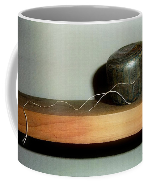 String Coffee Mug featuring the photograph String Theory by RC DeWinter