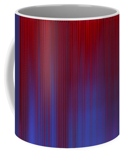 Coffee Mug featuring the digital art Stripes 842 by Tim Sladek