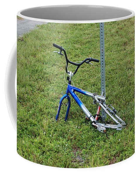 Bicycle Coffee Mug featuring the photograph Stripped by Rob Hans