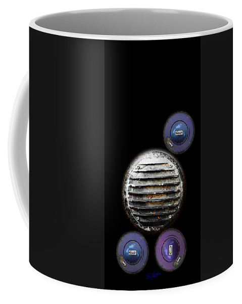 Stroller Coffee Mug featuring the photograph Stroller by Charles Stuart