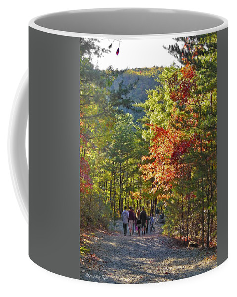 Nature Coffee Mug featuring the photograph Strolling The Upper Cascades Trail by Matt Taylor