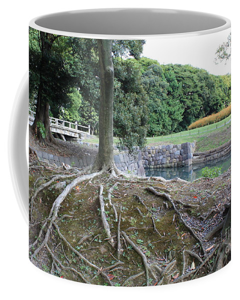 Japan Coffee Mug featuring the photograph Strong Roots In Japan by Carol Groenen