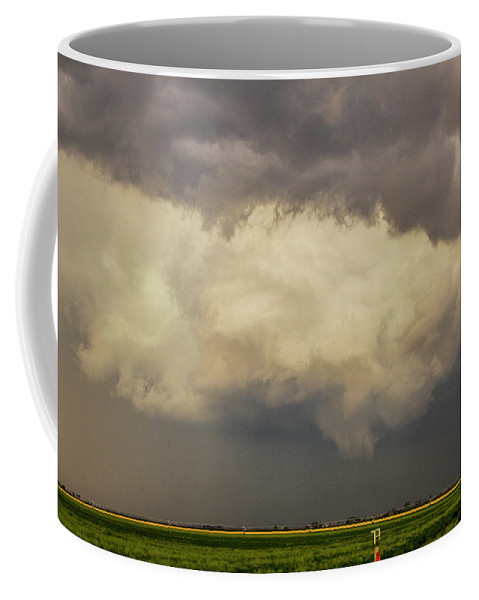 Nebraskasc Coffee Mug featuring the photograph Strong Storms In South Central Nebraska 006 by NebraskaSC
