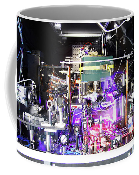 Science Coffee Mug featuring the photograph Strontium Atomic Clock by Ye Group/Baxley/JILA