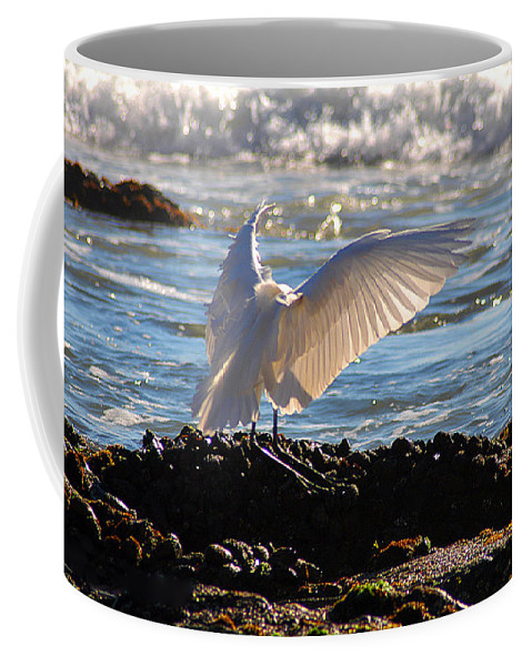 Clay Coffee Mug featuring the photograph Strut by Clayton Bruster