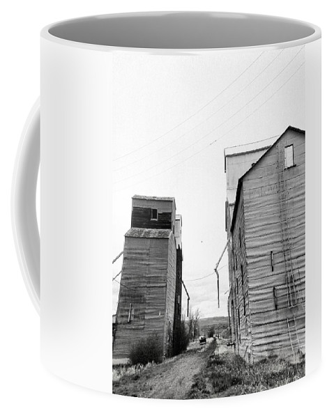 Montana Coffee Mug featuring the photograph Stuck In The Middle by Susan Kinney
