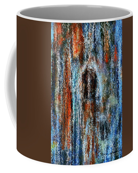 Coffee Mug featuring the digital art Stump Revealed by David Lane