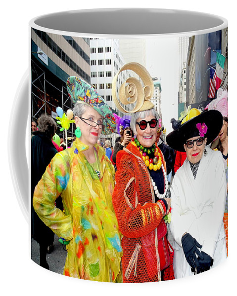 Fashion Coffee Mug featuring the photograph Style Knows No Age by Ed Weidman