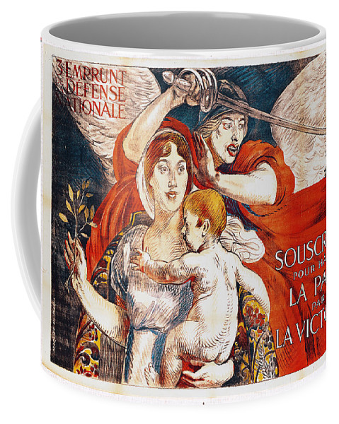 Paul Albert Besnard Coffee Mug featuring the painting Subscribe To Hasten Peace By Victory by Paul Albert Besnard