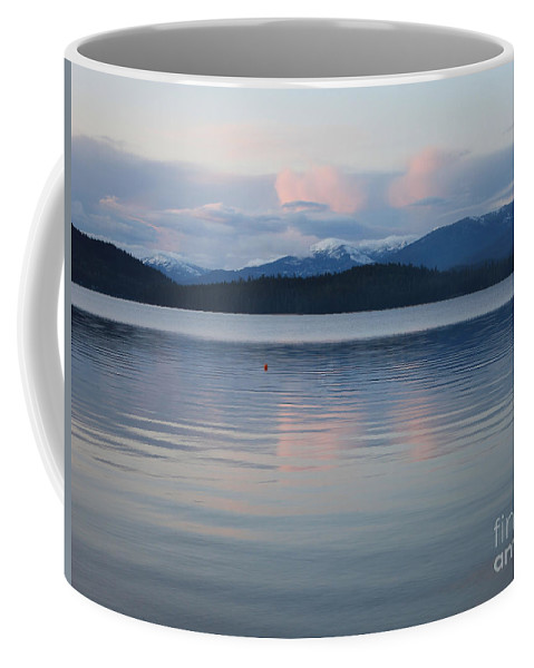 Priest Lake Coffee Mug featuring the photograph Subtle Sunset On Priest Lake by Carol Groenen
