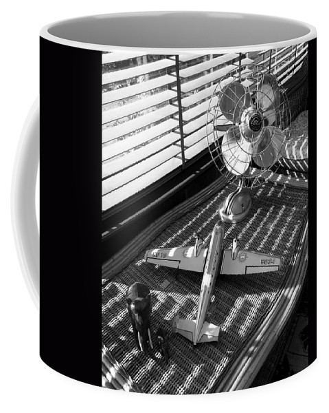 Still Life Coffee Mug featuring the photograph Suburban Runway by Charles Stuart