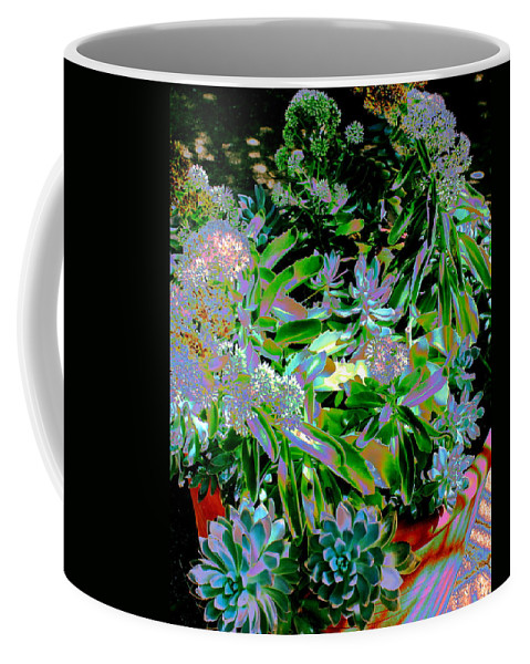 Plants Coffee Mug featuring the photograph Succulent Pot by M Diane Bonaparte