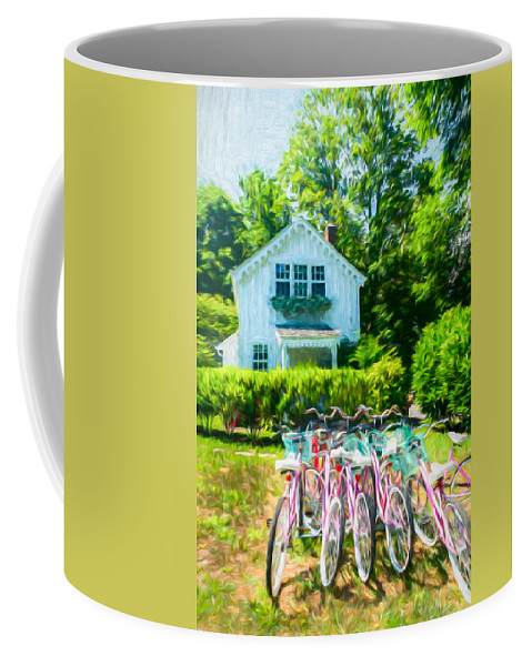 Hamptons Coffee Mug featuring the photograph Summer Afternoon In The Hamptons by Stan Dzugan