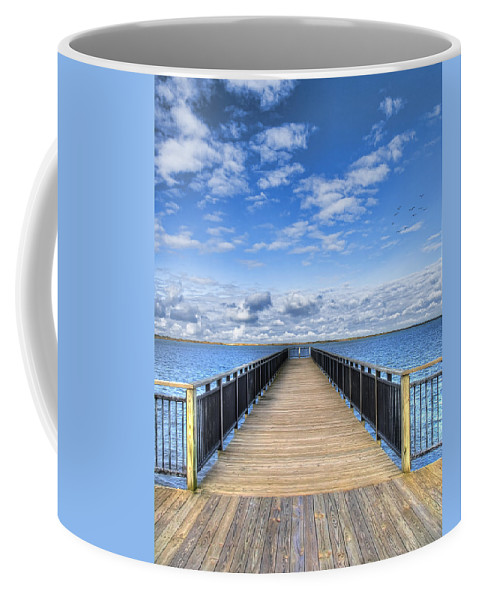 Hdr Coffee Mug featuring the photograph Summer Bliss by Tammy Wetzel