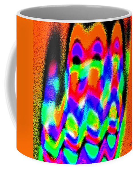 Conceptual Coffee Mug featuring the digital art Summer Call Of The North by Will Borden