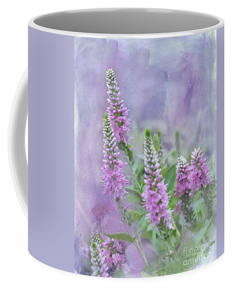 Agastache Coffee Mug featuring the photograph Summer Dreams by Betty LaRue