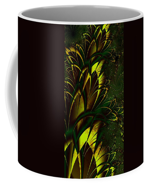 Digital Art Coffee Mug featuring the digital art Summer Frenzy by Amanda Moore