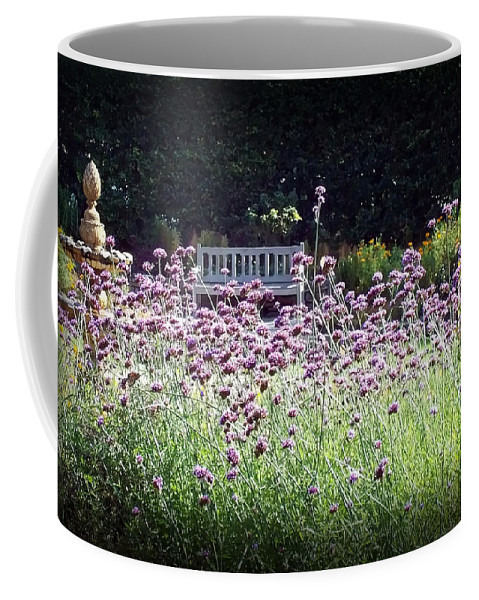 Nature Coffee Mug featuring the photograph Summer Garden II by Lauren Radke