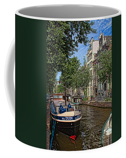 Amsterdam Coffee Mug featuring the photograph Summer In Amsterdam-1 by Casper Cammeraat