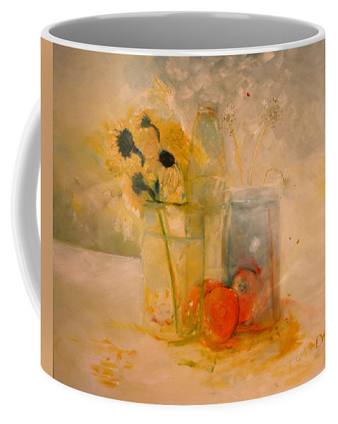 Daisey Coffee Mug featuring the painting Summer Light by Jack Diamond