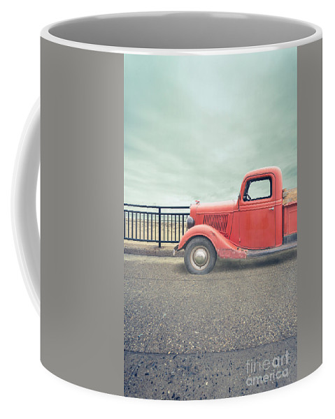 Red Coffee Mug featuring the photograph Summer Loving by Edward Fielding
