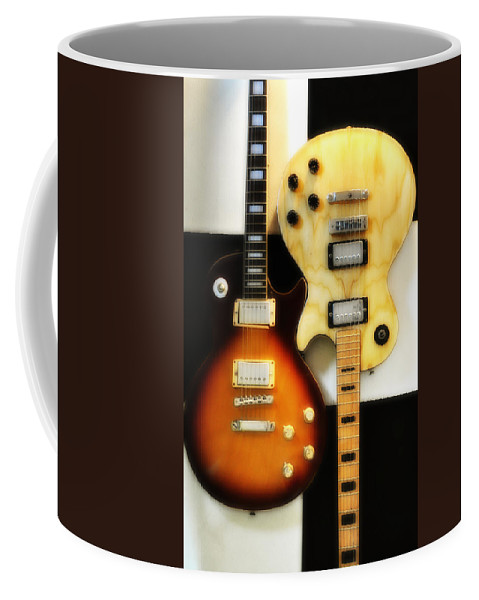 Les Paul Coffee Mug featuring the photograph Summer Of 69 by Bill Cannon