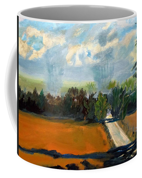 Agriculture Coffee Mug featuring the painting Summer Rain by Max Bowermeister