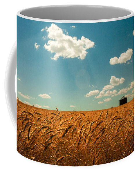 Landscape Coffee Mug featuring the photograph Summer Respit by Todd Klassy