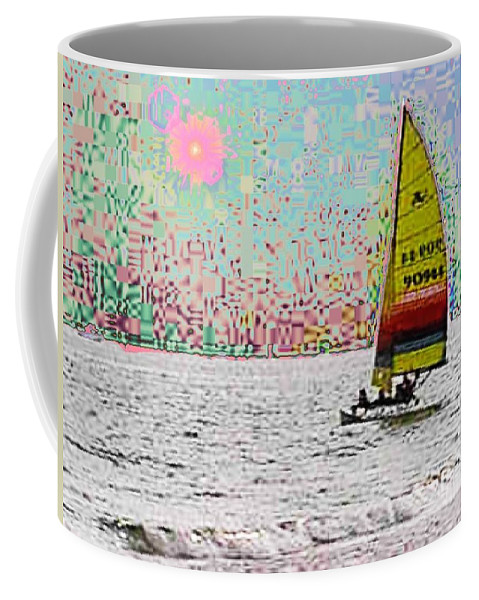 Sail Coffee Mug featuring the photograph Summer Sailin by Tim Allen