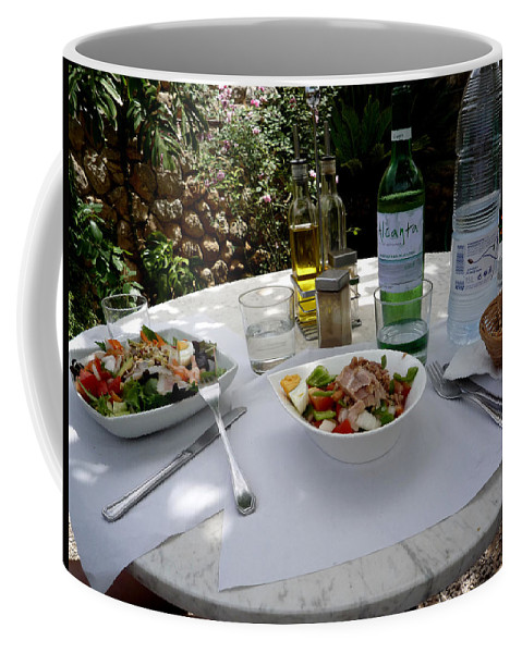 Lunch Coffee Mug featuring the photograph Summer Salad by Charles Stuart