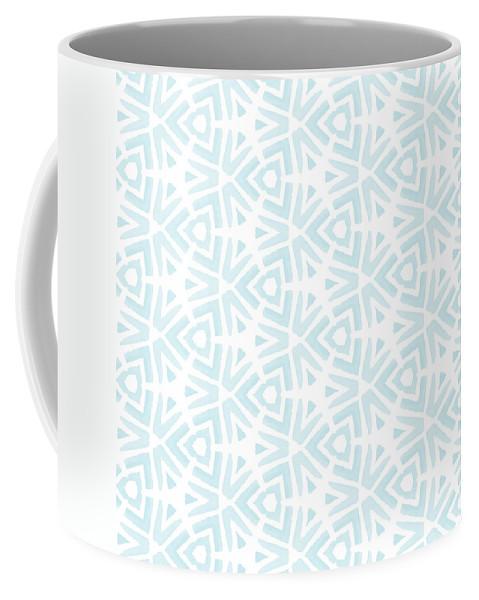 Pattern Coffee Mug featuring the digital art Summer Splash- Pattern Art by Linda Woods by Linda Woods