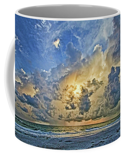 Anna Maria Island Florida Coffee Mug featuring the photograph Summer Storms In The Gulf by HH Photography of Florida